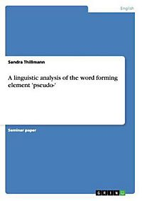 what is linguistic analysis pdf
