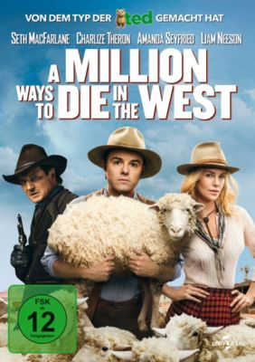 A Million Ways to Die in the West, Charlize Theron,Amanda Seyfried Seth MacFarlane
