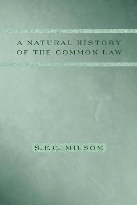 A Natural History of the Common Law, S. F. C. Milsom
