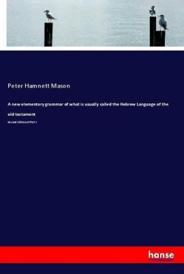 A new elementary grammar of what is usually called the Hebrew Language of the old testament, Peter Hamnett Mason