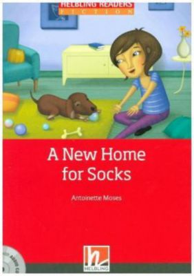 A New Home for Socks, mit 1 Audio-CD, m. 1 Audio-CD, Antoinette Moses