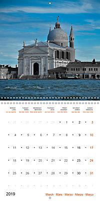 A new look at Venice (Wall Calendar 2019 300 × 300 mm Square) - Produktdetailbild 3