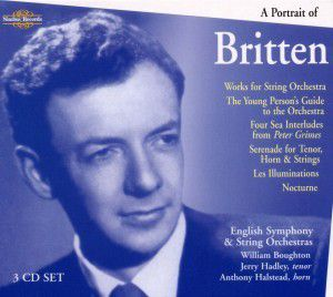 A Portrait Of Britten, William Boughton, English String Orchestra