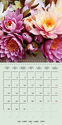 A Potpourri of Waterlilies (Wall Calendar 2019 300 × 300 mm Square) - Produktdetailbild 7