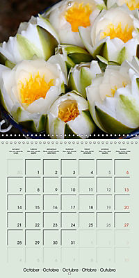 A Potpourri of Waterlilies (Wall Calendar 2019 300 × 300 mm Square) - Produktdetailbild 10