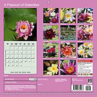 A Potpourri of Waterlilies (Wall Calendar 2019 300 × 300 mm Square) - Produktdetailbild 13