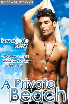 A Private Beach: A Private Beach - Sexy Gay Interracial M/M White-on-Asian Erotica from Steam Books, Bernadette Russo, Steam Books