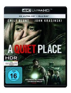 A Quiet Place - 2 Disc Bluray, John Krasinski,Noah Jupe Emily Blunt