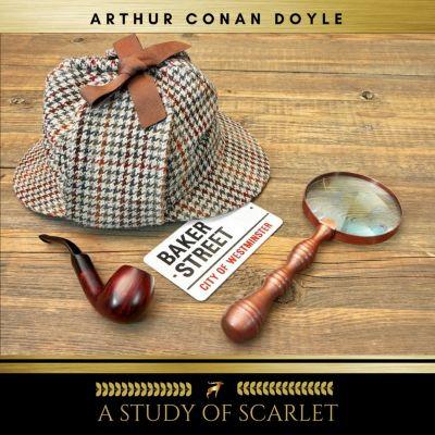 A Study In Scarlet, Arthur Conan Doyle
