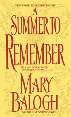 A Summer to Remember, Mary Balogh