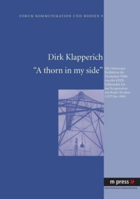 A thorn in my side, Dirk Klapperich