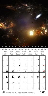 A trip through the universe (Wall Calendar 2019 300 × 300 mm Square) - Produktdetailbild 2