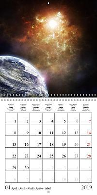 A trip through the universe (Wall Calendar 2019 300 × 300 mm Square) - Produktdetailbild 4