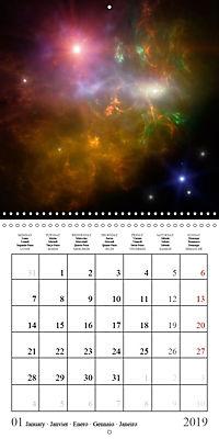 A trip through the universe (Wall Calendar 2019 300 × 300 mm Square) - Produktdetailbild 1