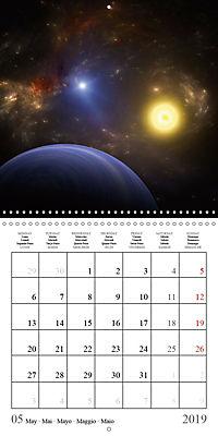 A trip through the universe (Wall Calendar 2019 300 × 300 mm Square) - Produktdetailbild 5