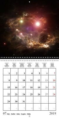 A trip through the universe (Wall Calendar 2019 300 × 300 mm Square) - Produktdetailbild 7
