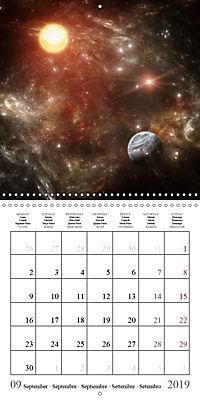 A trip through the universe (Wall Calendar 2019 300 × 300 mm Square) - Produktdetailbild 9