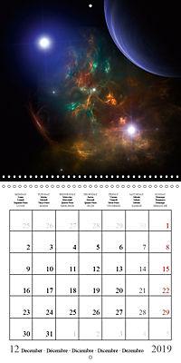 A trip through the universe (Wall Calendar 2019 300 × 300 mm Square) - Produktdetailbild 12