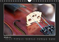 A violin only (Wall Calendar 2019 DIN A4 Landscape) - Produktdetailbild 1