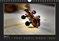 A violin only (Wall Calendar 2019 DIN A4 Landscape) - Produktdetailbild 5