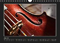 A violin only (Wall Calendar 2019 DIN A4 Landscape) - Produktdetailbild 7