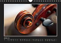 A violin only (Wall Calendar 2019 DIN A4 Landscape) - Produktdetailbild 6