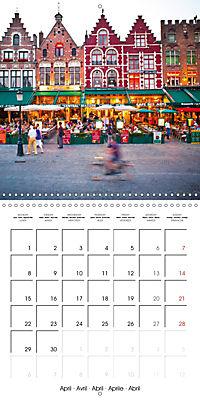 A visit to Belgium (Wall Calendar 2019 300 × 300 mm Square) - Produktdetailbild 4