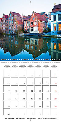 A visit to Belgium (Wall Calendar 2019 300 × 300 mm Square) - Produktdetailbild 9
