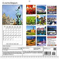 A visit to Belgium (Wall Calendar 2019 300 × 300 mm Square) - Produktdetailbild 13