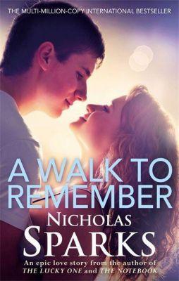 A Walk to Remember, Nicholas Sparks