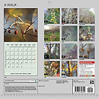 A WALK (Wall Calendar 2019 300 × 300 mm Square) - Produktdetailbild 13