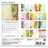 A Word - A picture (Wall Calendar 2019 300 × 300 mm Square) - Produktdetailbild 13