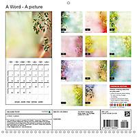 A Word - A picture (Wall Calendar 2019 300 × 300 mm Square) - Produktdetailbild 13