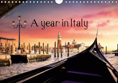 A year in Italy (Wall Calendar 2019 DIN A4 Landscape), Vincent Moschetti