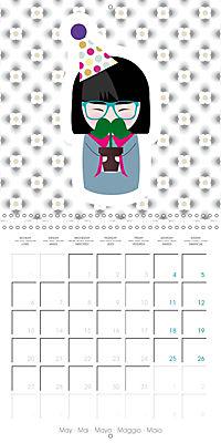 A year of Kokeshi (Wall Calendar 2019 300 × 300 mm Square) - Produktdetailbild 5