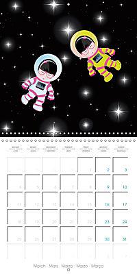 A year of Kokeshi (Wall Calendar 2019 300 × 300 mm Square) - Produktdetailbild 3