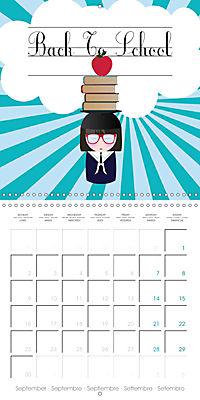 A year of Kokeshi (Wall Calendar 2019 300 × 300 mm Square) - Produktdetailbild 9