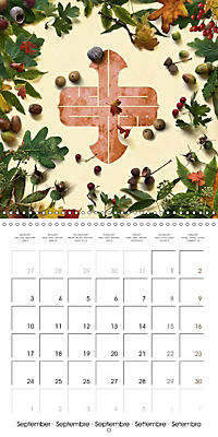 A Year with the Earth (Wall Calendar 2018 300 × 300 mm Square) - Produktdetailbild 9