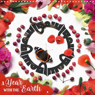 A Year with the Earth (Wall Calendar 2018 300 × 300 mm Square), Joumana Medlej