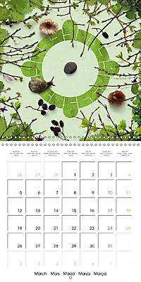 A Year with the Earth (Wall Calendar 2018 300 × 300 mm Square) - Produktdetailbild 3