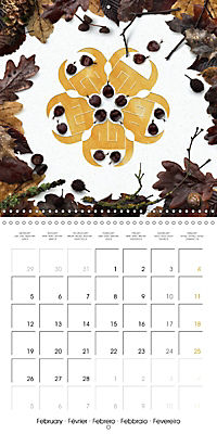 A Year with the Earth (Wall Calendar 2018 300 × 300 mm Square) - Produktdetailbild 2