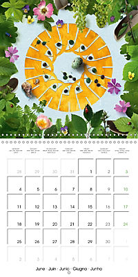A Year with the Earth (Wall Calendar 2018 300 × 300 mm Square) - Produktdetailbild 6