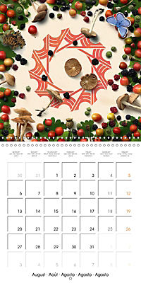 A Year with the Earth (Wall Calendar 2018 300 × 300 mm Square) - Produktdetailbild 8