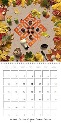 A Year with the Earth (Wall Calendar 2018 300 × 300 mm Square) - Produktdetailbild 10