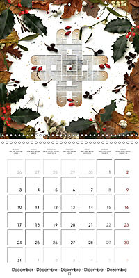 A Year with the Earth (Wall Calendar 2018 300 × 300 mm Square) - Produktdetailbild 12