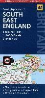 AA Road Map Britain South East England