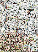 AA Road Map Britain South East England - Produktdetailbild 2