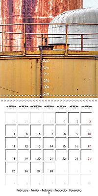 Abandoned factories (Wall Calendar 2019 300 × 300 mm Square) - Produktdetailbild 2