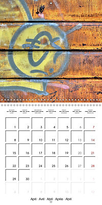 Abandoned factories (Wall Calendar 2019 300 × 300 mm Square) - Produktdetailbild 4