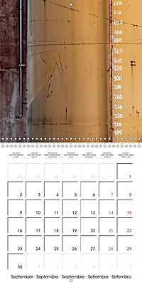 Abandoned factories (Wall Calendar 2019 300 × 300 mm Square) - Produktdetailbild 9